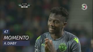 Sporting CP, Jogada, A. Diaby aos 47'