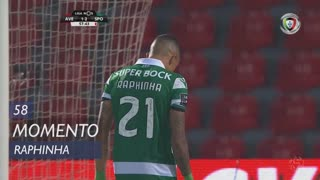 Sporting CP, Jogada, Raphinha aos 58'