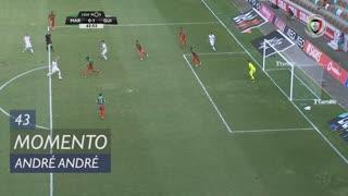 Vitória SC, Jogada, André André aos 43'