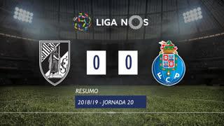 I Liga (20ªJ): Resumo Vitória SC 0-0 FC Porto