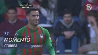 Marítimo M., Jogada, Correa aos 77'