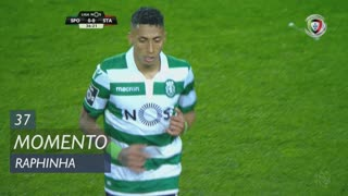 Sporting CP, Jogada, Raphinha aos 37'
