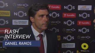 Liga (10ª): Flash interview Daniel Ramos