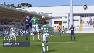 Moreirense FC, Caso, Ibrahima aos 33'