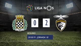 Liga NOS (18ªJ): Resumo Boavista FC 0-2 Portimonense