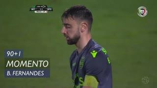 Sporting CP, Jogada, Bruno Fernandes aos 90'+1'