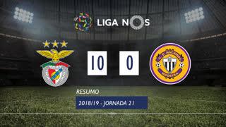 Liga NOS (21ªJ): Resumo SL Benfica 10-0 CD Nacional