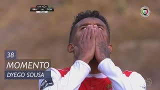 SC Braga, Jogada, Dyego Sousa aos 38'