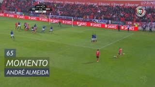 SL Benfica, Jogada, André Almeida aos 65'