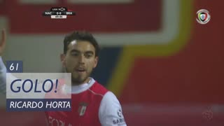 GOLO! SC Braga, Ricardo Horta aos 61', CD Nacional 0-1 SC Braga
