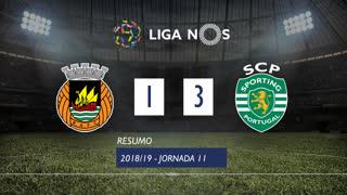 Liga NOS (11ªJ): Resumo Rio Ave FC 1-3 Sporting CP
