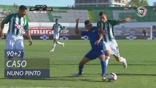 Vitória FC, Caso, Nuno Pinto aos 90'+2'