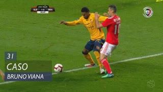 SC Braga, Caso, Bruno Viana aos 31'