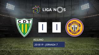 Liga NOS (7ªJ): Resumo CD Tondela 1-1 CD Nacional