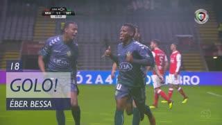 GOLO! Vitória FC, Éber Bessa aos 18', SC Braga 1-1 Vitória FC