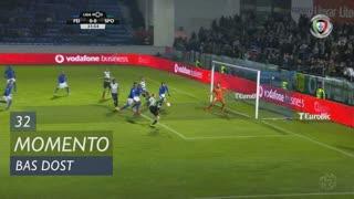 Sporting CP, Jogada, Bas Dost aos 32'
