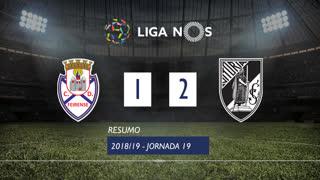 Liga NOS (19ªJ): Resumo CD Feirense 1-2 Vitória SC