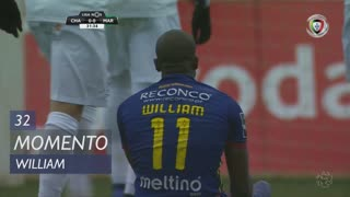 GD Chaves, Jogada, William aos 32'