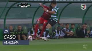 Sporting CP, Caso, M. Acuña aos 29'