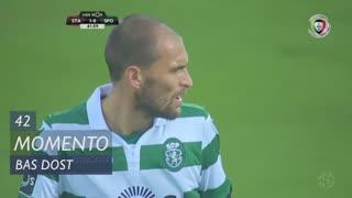 Sporting CP, Jogada, Bas Dost aos 42'