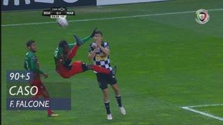 Boavista FC, Caso, F. Falcone aos 90'+5'