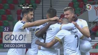 GOLO! Rio Ave FC, Diego Lopes aos 52', Marítimo M. 0-1 Rio Ave FC