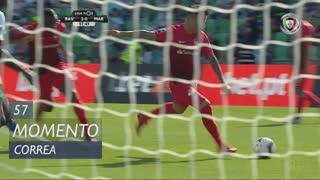 Marítimo M., Jogada, Correa aos 57'