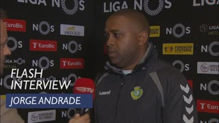 Liga (29ª): Flash Interview Jorge Andrade