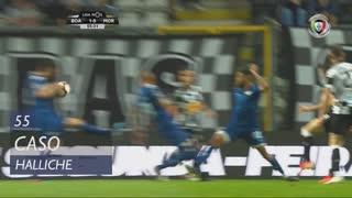 Moreirense FC, Caso, Halliche aos 55'