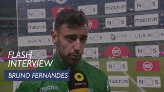 Liga (20ª): Flash interview Bruno Fernandes