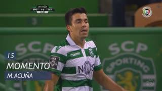 Sporting CP, Jogada, M. Acuña aos 15'