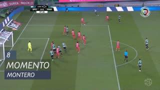 Sporting CP, Jogada, Montero aos 8'