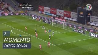 SC Braga, Jogada, Dyego Sousa aos 2'