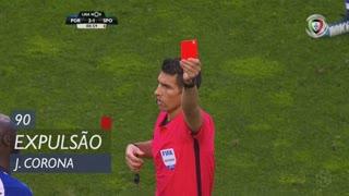 FC Porto, Expulsão, J. Corona aos 90'