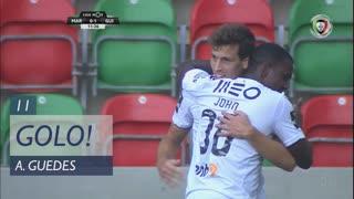 GOLO! Vitória SC, Alexandre Guedes aos 11', Marítimo M. 0-1 Vitória SC