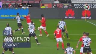 SL Benfica, Jogada, Zivkovic aos 62'
