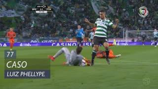 Sporting CP, Caso, Luiz Phellype aos 77'