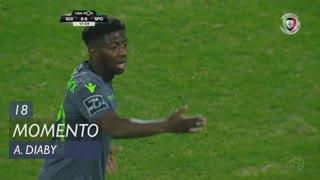 Sporting CP, Jogada, A. Diaby aos 18'