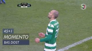 Sporting CP, Jogada, Bas Dost aos 45'+1'