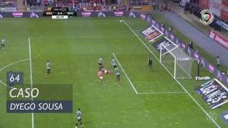 SC Braga, Caso, Dyego Sousa aos 64'