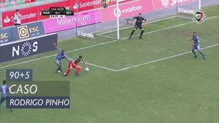 Marítimo M., Caso, Rodrigo Pinho aos 90'+5'