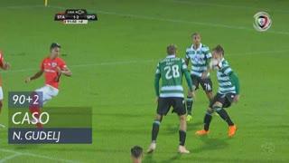 Sporting CP, Caso, N. Gudelj aos 90'+2'