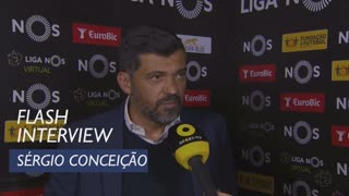 Liga (27ª): Flash Interview Sérgio Conceição