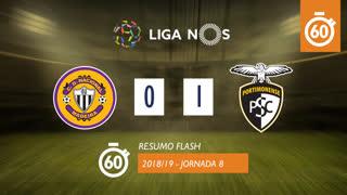 Liga NOS (8ªJ): Resumo Flash CD Nacional 0-1 Portimonense