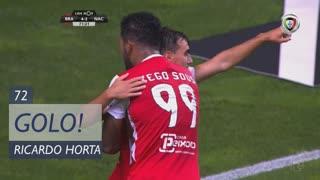 GOLO! SC Braga, Ricardo Horta aos 72', SC Braga 4-2 CD Nacional