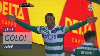 GOLO! Sporting CP, Nani aos 45'+1', Sporting CP 2-1 CD Aves