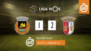 Liga NOS (24ªJ): Resumo Flash Rio Ave FC 1-2 SC Braga