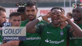 GOLO! Marítimo M., Zainadine aos 45'+1', CD Aves 0-1 Marítimo M.