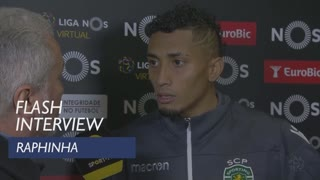 Liga (14ª): Flash interview Raphinha