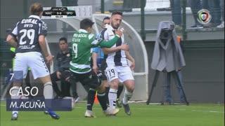Sporting CP, Caso, M. Acuña aos 7'